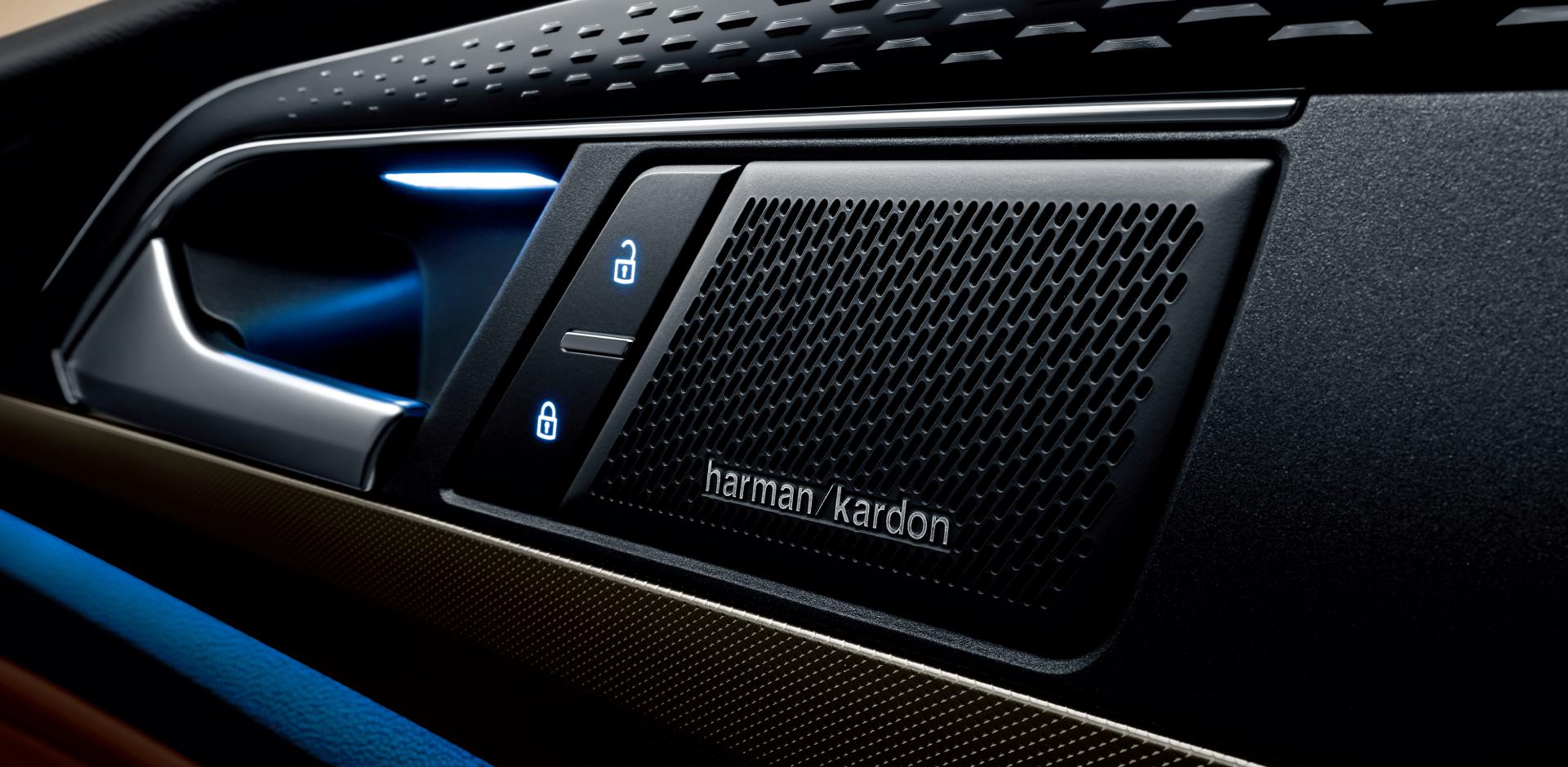 哈曼卡顿高级音响系统